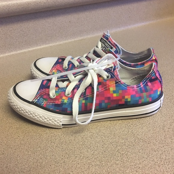Converse Other - Converse Shoes Low Cut 352978F Girl Kids Youth 1 8f14548fc